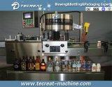 Máquina de rellenar del jugo carbónico de la bebida de la botella de cristal