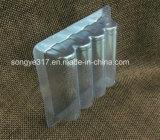 Tampa de blister de cartão transparente de pressão de PVC