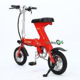 Mini bicicleta elétrica portátil de pouco peso