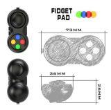 Amazing Gift Fidget Hand Shank Pad Fidget Desk Toy Hi-Q Fidget Puzzle Cube Pad