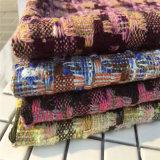 Tela de lana, tweed tejido para ropa, igual Escudo