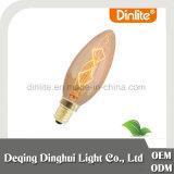 China C48 pera forma 60W amber clássico luz lâmpada