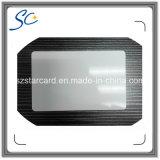 Cartão em branco da identificação do PVC