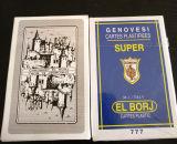 Italia modificó las tarjetas que jugaban del papel para requisitos particulares (40 TARJETAS UNA CUBIERTA)