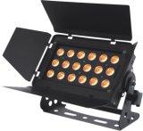 arruela interna da parede do diodo emissor de luz de 18X10W RGBW 4in1