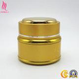 Moquerie cosmétique d'or de bouteille d'OEM vers le haut