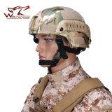 Casco militare 2000 di Mich Ach con il casco di versione di azione del supporto di Nvg & della battagliola