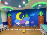 Панель потолка акустической панели панели стены полиэфира волокна акустического материала украшения