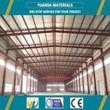 Estructura de acero atada grande al aire libre del marco