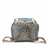 Saco de ombro de dama de borracha de diamante de luxo (MBNO040042)