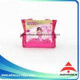 El color brillante Shinny el bolso de libro de escuela de la taleguilla de la mano del hombro de la tela