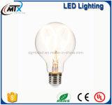 Bombilla del filamento de la vendimia LED del estilo de G80 4W 2200K Edison