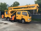 Vrachtwagen de Op grote hoogte van de Verrichting van Dongfeng voor het Werken van de Hoge Hoogte