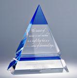 De Trofee van de Toekenning van de Vorm van het Boek van het Glas van het Kristal van de kwaliteit voor Herinneringen