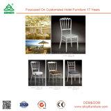 Mobiliário de quarto de hotel Cadeira de madeira antiga sem braços