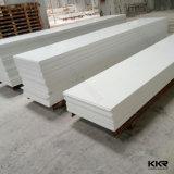Kingkonree 6mm 빙하 백색 인공적인 돌 단단한 표면