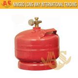 Heißer Verkauf kleiner komprimierter kundenspezifischer LPG-Gas-Zylinder (AS-LPG-0.5KGB)