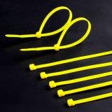 100 Satz 10 Zoll-Reißverschluss-Kabelbinder-Nylonkabelbinder-Schwarzes 50 lbs UVwetter-beständige Draht-