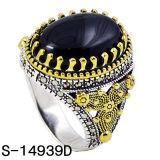 Il rame squilla l'anello d'argento degli uomini dei monili 925 di modo