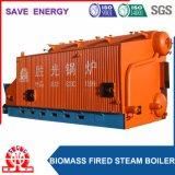 Caldaia a vapore industriale di viaggio della biomassa della griglia del Doppio-Timpano