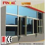 Finestra di vetro di alluminio