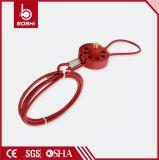 PC покрыл тип замыкание колеса 2m кабеля замка 6padlock (BD-L31)