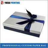 Sky-Blue Paper Box Shirt Pakcaging Box Gift Box