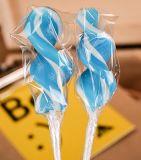 3D 판지 디자인 황색 오리 단단한 Lollipop 사탕