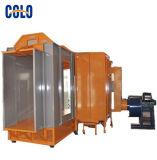 Paso industrial de las cabinas de la capa del polvo a través del modelo