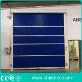 세륨에 의하여 증명되는 PVC 직물 고속 빠른 임시 급속한 머리 위 회전 또는 롤러 셔터 문