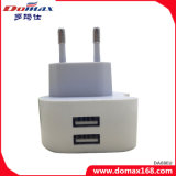 L'Ue del dispositivo del telefono mobile del caricatore del USB tappa l'adattatore del caricatore di corsa