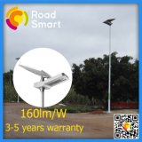 Luz de rua ao ar livre solar do projeto 20W da patente com bateria de lítio