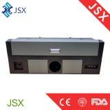 Het Knipsel van de Laser van Jsx5030 35W op CNC van de Desktop van het Leer van de Stof de Kleine Machine van de Laser