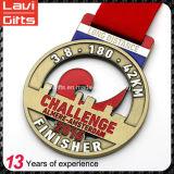 Nueva alta calidad del diseño medalla de Marathon personalizada