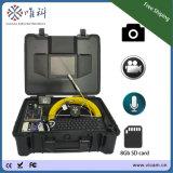 appareil-photo imperméable à l'eau d'inspection de conduit d'égout de télévision en circuit fermé de câble de 20m/30m/40m avec le compteur de mètre