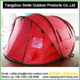 Располагаться лагерем двойного слоя персоны рынка 4 Кореи хлопает вверх шатер
