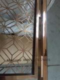 Couleur d'or d'écrans décoratifs d'acier inoxydable de diviseurs de pièce en métal