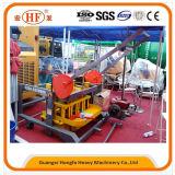 Машина прессформы блока машины цемента мелкия бизнеса Qm4-45