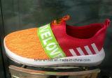 O esporte colorido modelo o mais atrasado das crianças da boa qualidade calç as sapatas da injeção (FF1029-4)