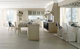 Gabinetes de cozinha contínuos do PVC do MDF da idéia nova