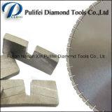 Le découpage de passerelle a vu le segment circulaire de diamant de lame pour la pierre de mur d'étage