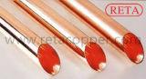 Tubulação de cobre reta dura de ASTM B68