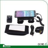 2D Scanner sans fil de code barres, scanner de code barres de Bluetooth de boucle pour Android&Ios Smartphone/tablette, avec terminal portable/sans fil