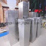 Grands usine d'acier inoxydable et bac de fleur par prix à l'unité de décoration d'horizontal