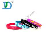 O Wristband quente do silicone da venda do esporte macio é agora promoção de vendas