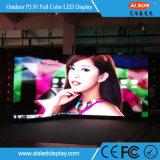 Im Freien gebogener farbenreicher Bildschirm LED-P3.91 für Stadiums-Miete
