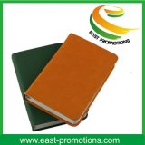 Cuaderno barato del Hardcover con cuero