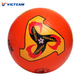 Billes de football en caoutchouc colorées de vente directe d'usine