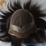 Factroryの自然なヘアラインMenの毛の置換システム