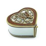 Коробка Hx-7335 ювелирных изделий кольца самомоднейшей формы сердца геометрическая стеклянная